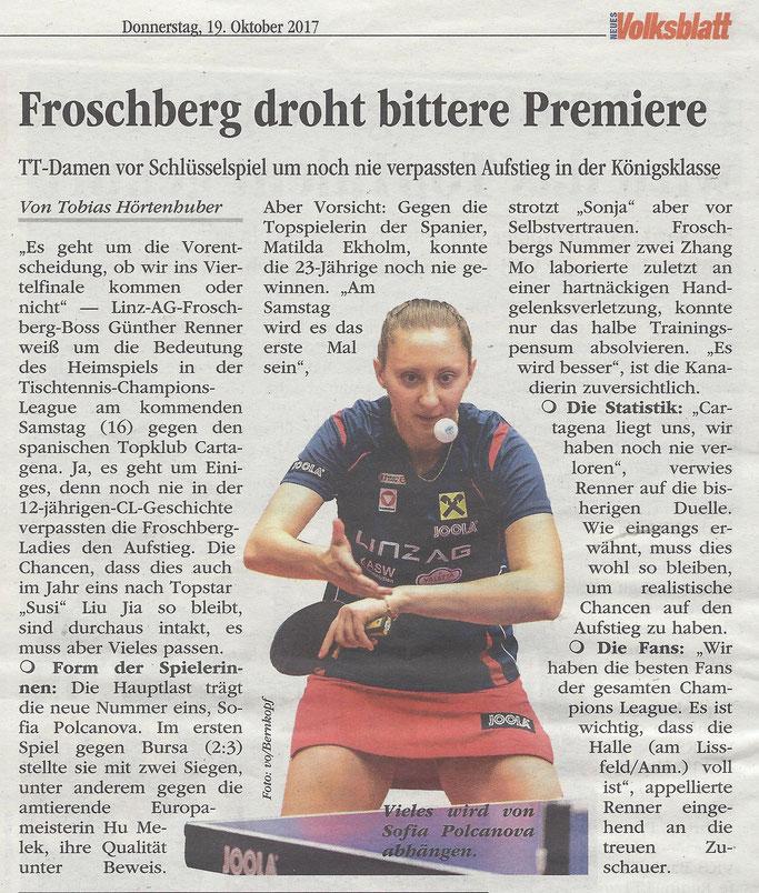 19.10. 2017 Volksblatt