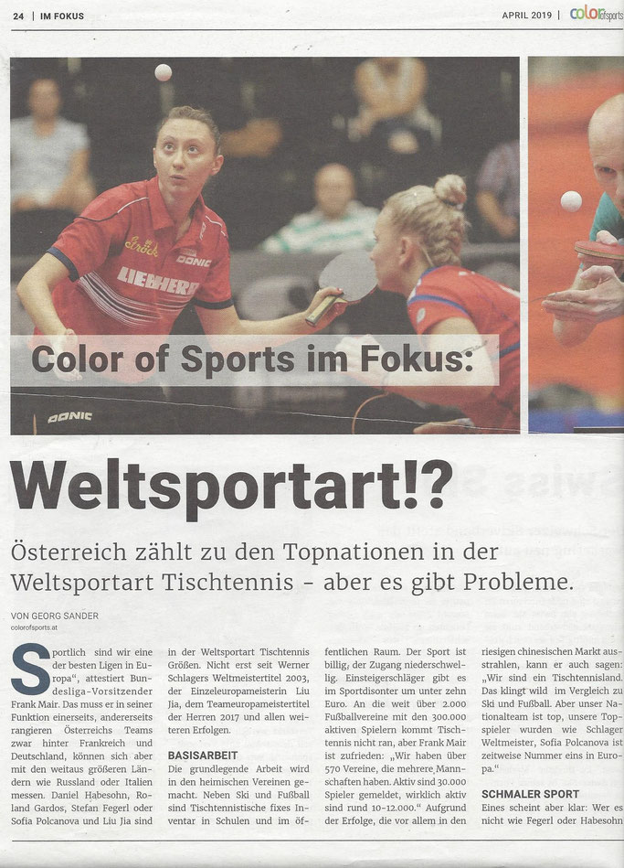 00.04. 2019 Color sports