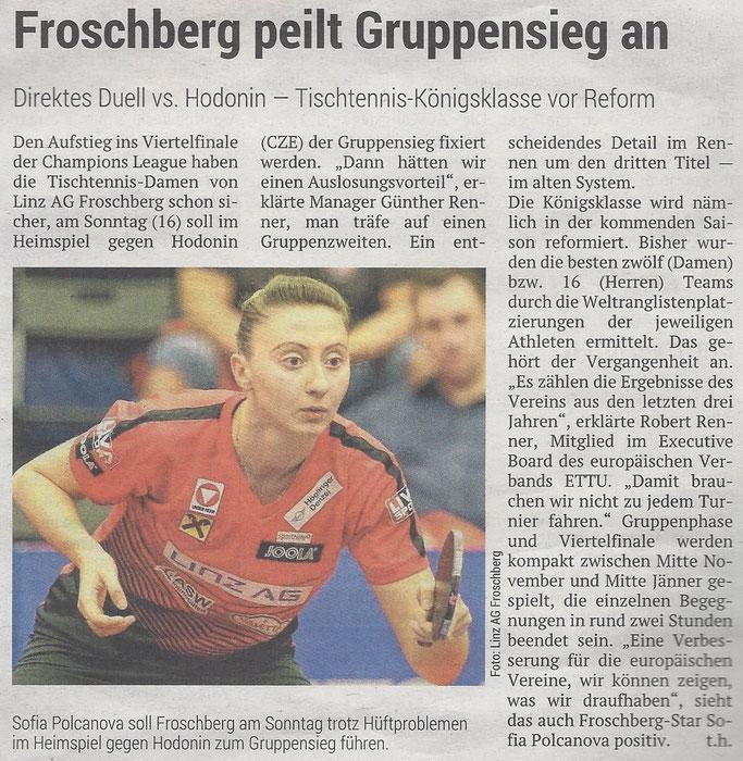 29.11.2019 Volksblatt
