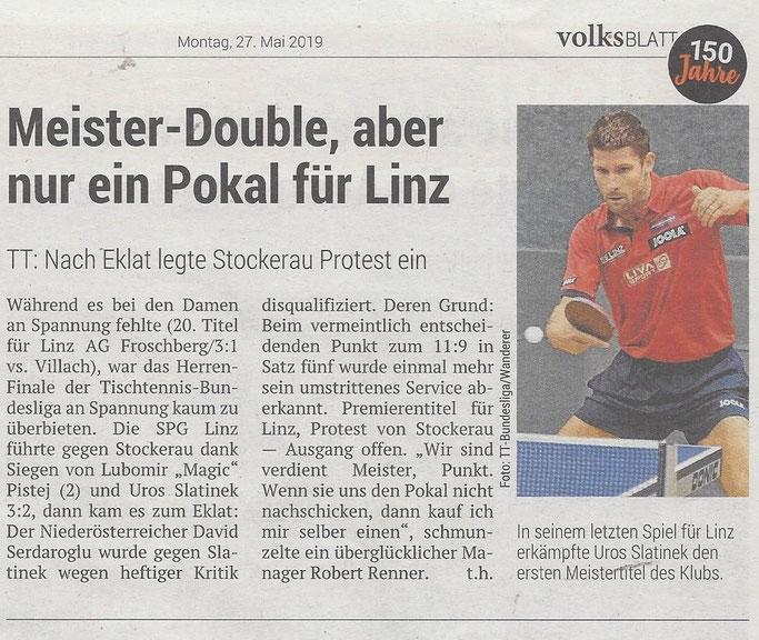 27.05. 2019 Volksblatt