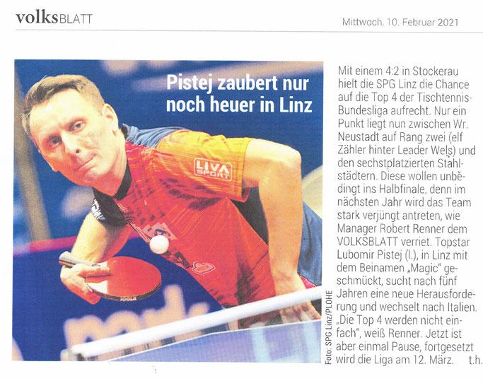 10.02.2021 Volksblatt