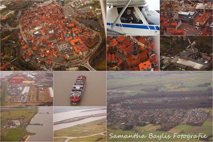 Hansestadt Stade Himmelpforten Luftaufnahme  Samantha Baylis Fotografie