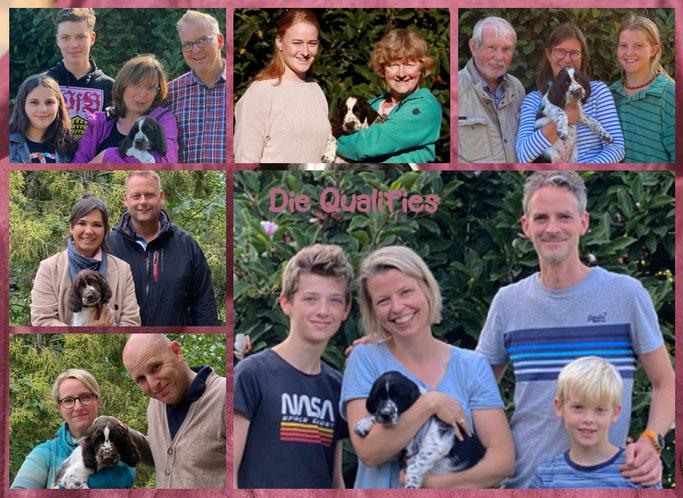 Unsere Qualifies mit ihren Familien...