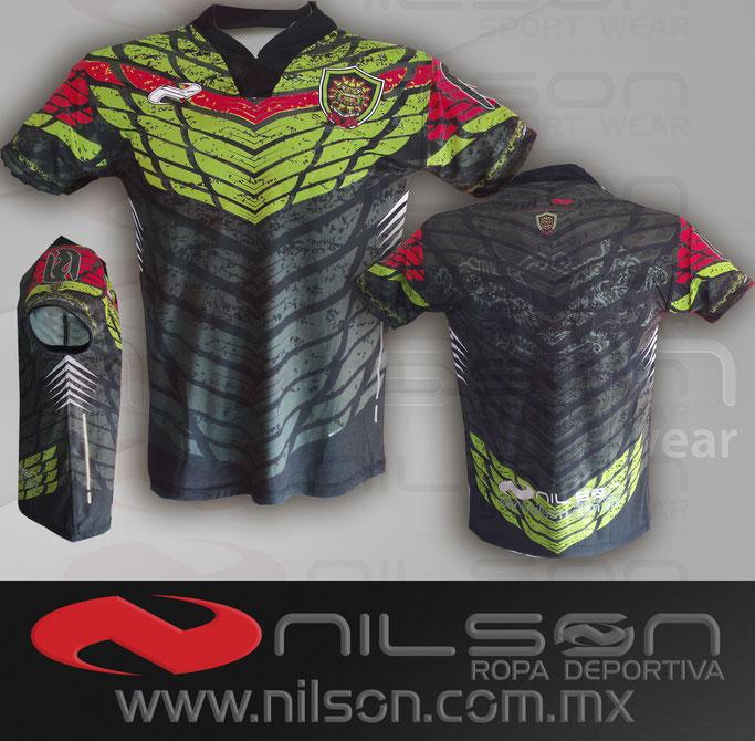 jersey Nilson modelo Quetzalcoatl Fullprint