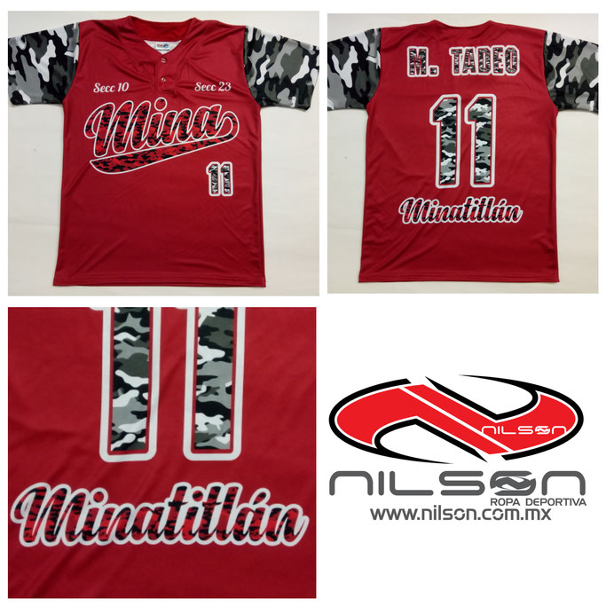 jersey sublimado NILSON Cuello V Padres manga corta y 3 4 ccf2388fe7f