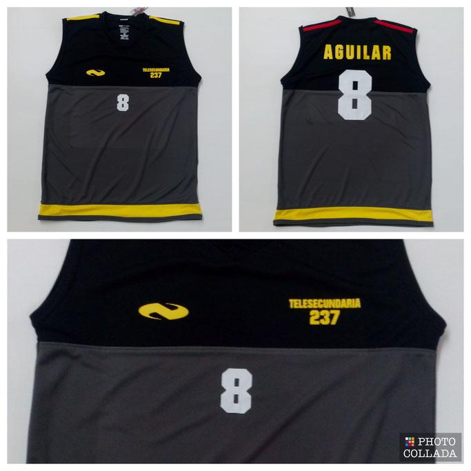 modelo basquetbol nilson 237 negro gris