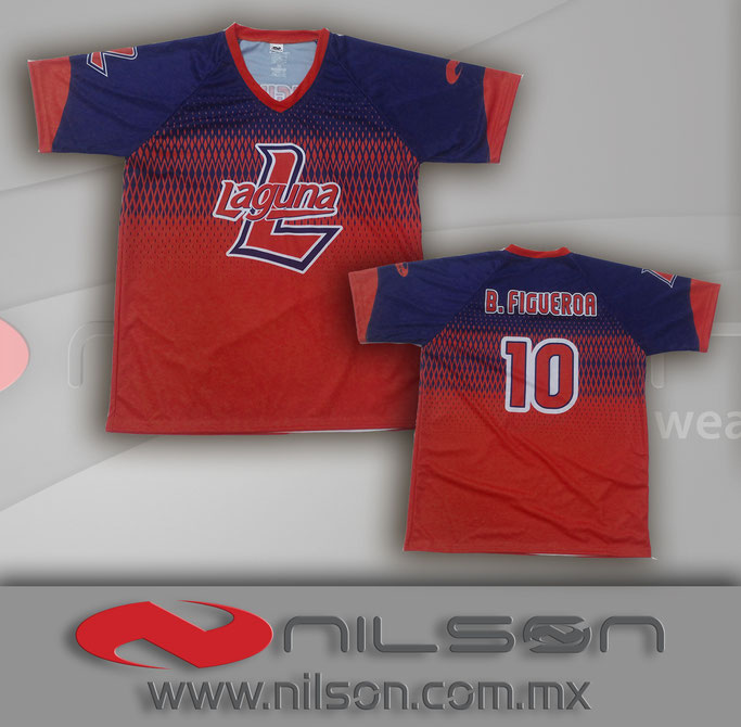 playera sublimada fullcolor LAGUNA