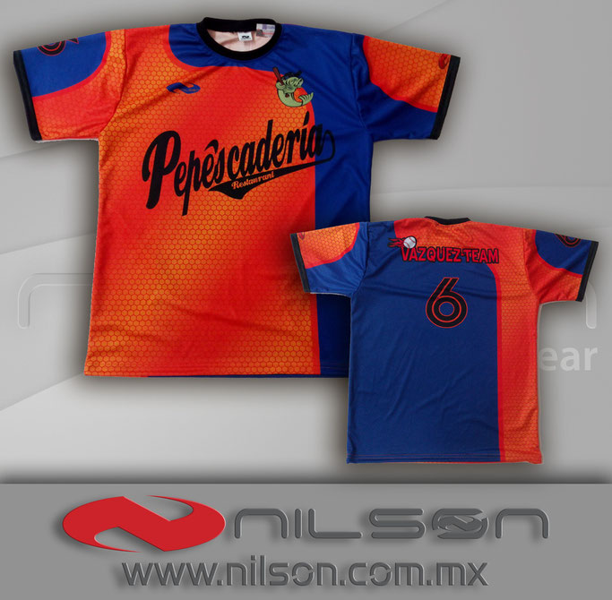 Playera nilson Sublimacion digital CR