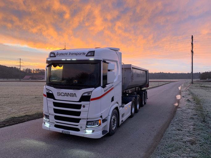 Seit September 2019 im Einsatz Scania V8 R650