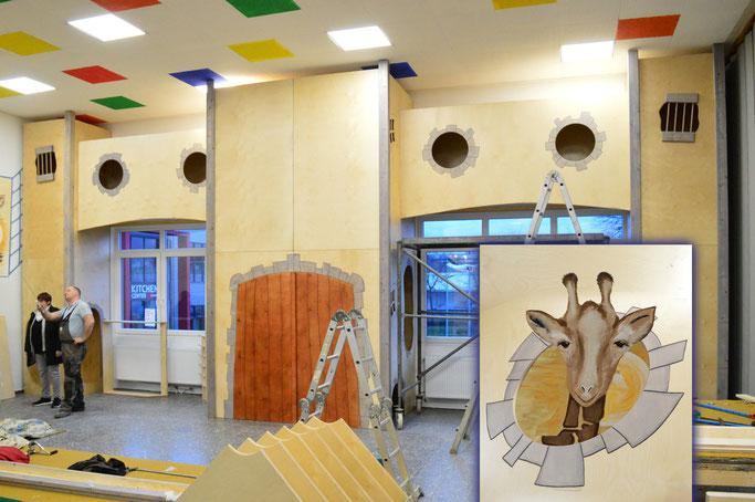 Der Indoor Spielsaal - Giraffenland-loehne Familien Begegnungszentrum