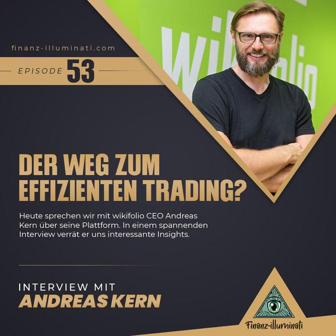 Interview mit Andreas kern wikifolio.com Geschäftsführer und Gründer