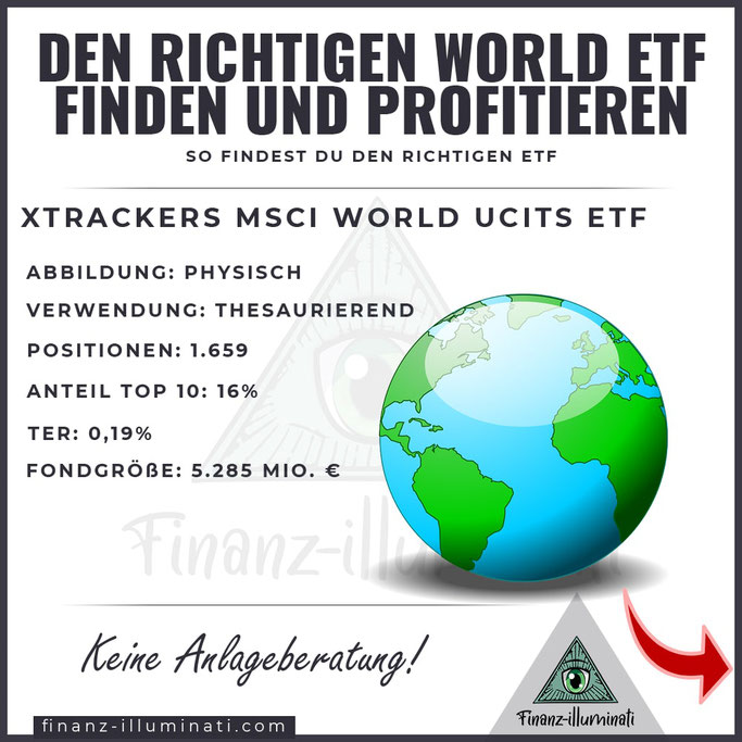 XTRACKERS MSCI World ETF UCTIS