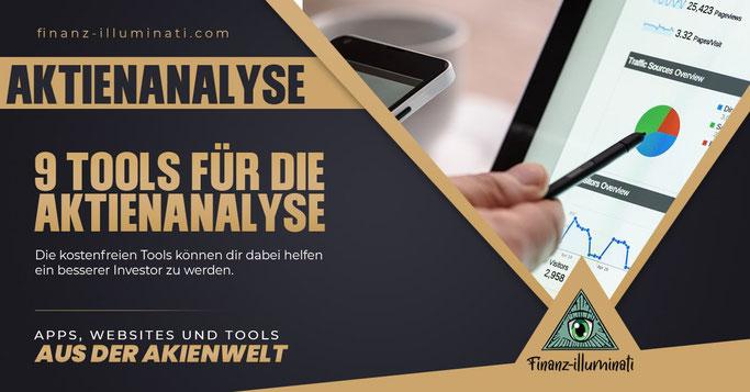 9 Tools, Websites, Apps zur Analyse von Aktien
