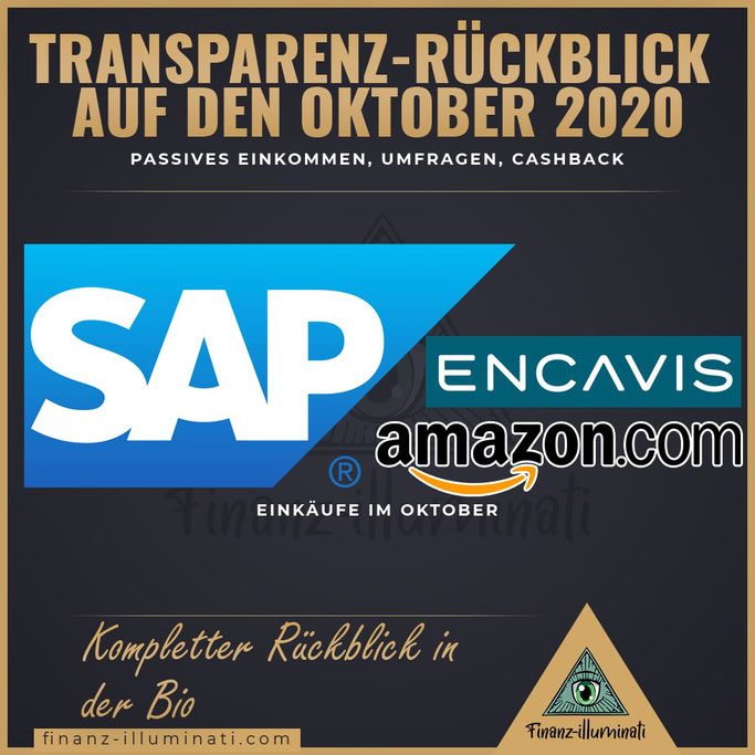Rückblick auf den Oktober 2020