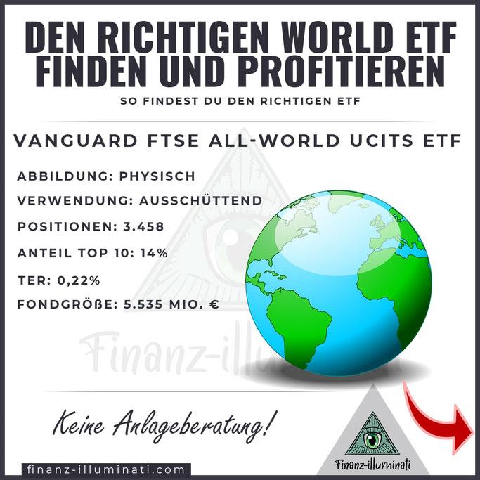 Vanguard FTSE All World UCTITS ETF - ISIN