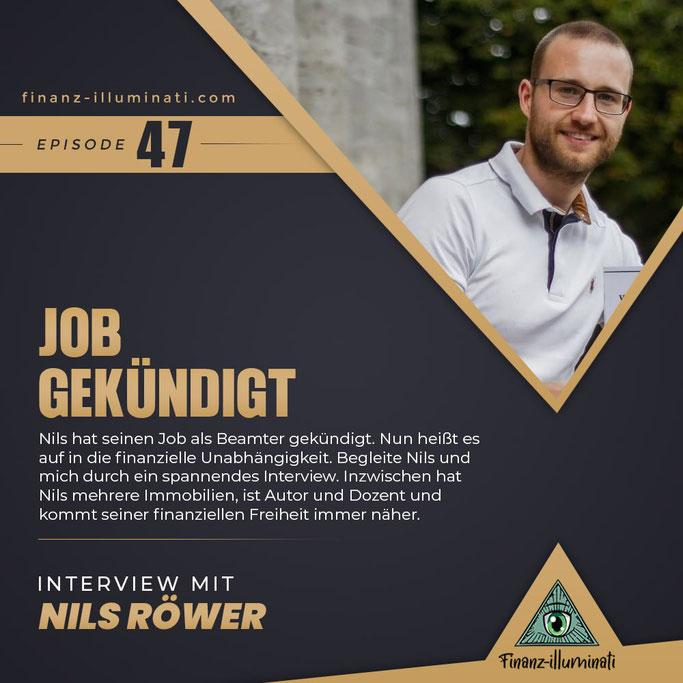 Job gekündigt finanzielle Freiheit Interview mit Investor Immobilien-Vermieter Nils Röwer Autor Dozent