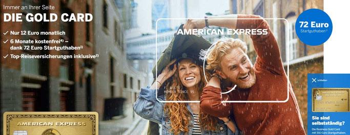 Amex Kreditkarten für Investoren Aktien Dividende