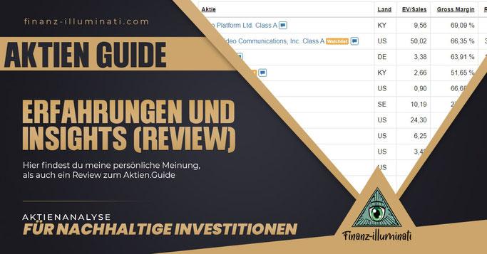 Review zum Aktien.Guide | Meinungen und Erfahrungen