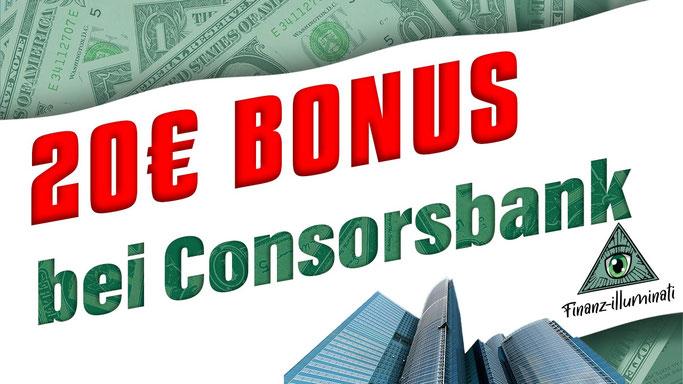 Bonus Link für Consorsbank Depot Eröffnung