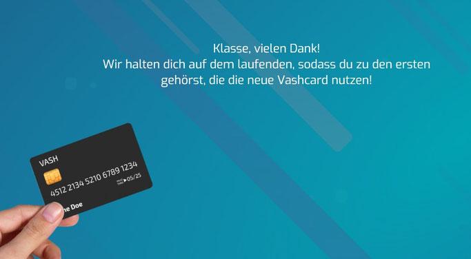 Vash Card Warteliste