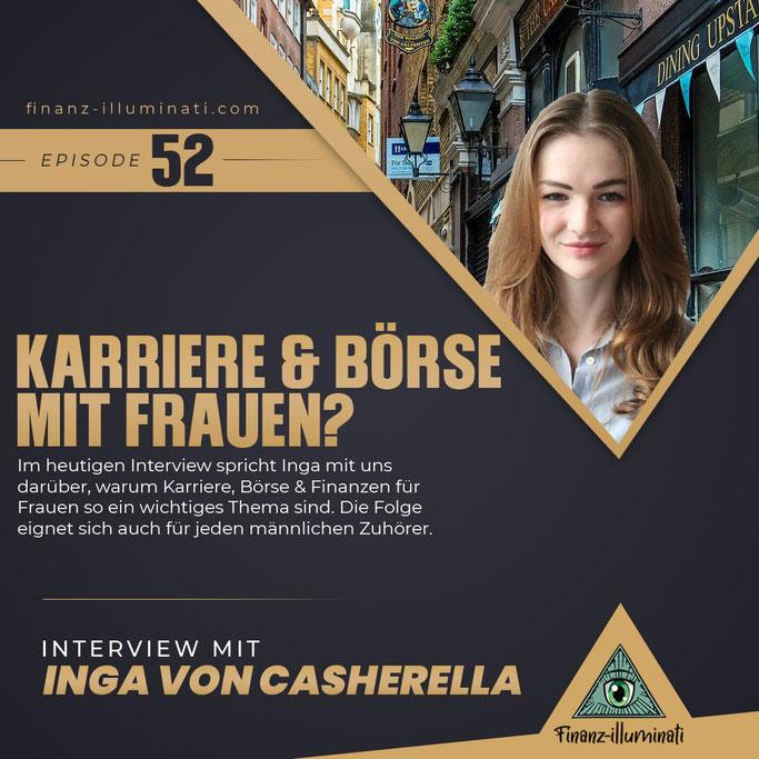 Karriere, Börse und Finanzen für Frauen Inga Casherella