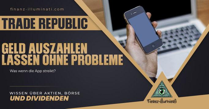 Geld Auszahlung bei Trade Republic