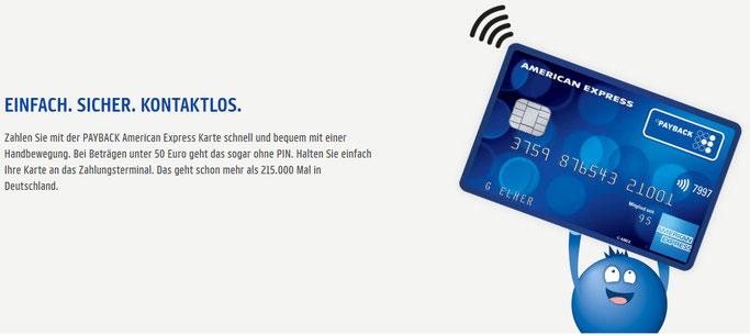 Payback Vorteile und Nachteile Amex Kreditkarte
