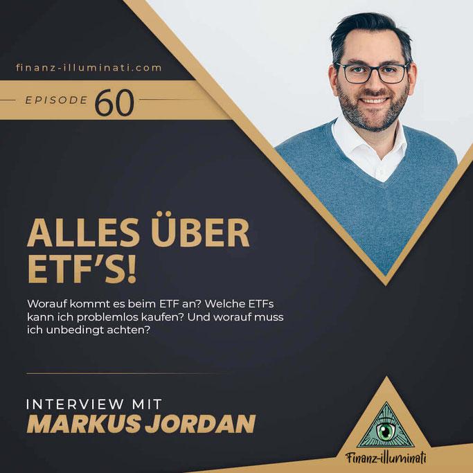 ETF Guide - alles über ETFs mit Markus Jordan von extraETF