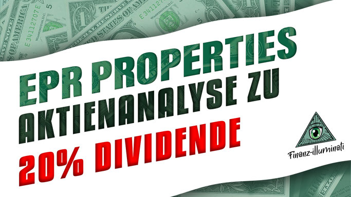 EPR Properties Aktienanalyse jeden Monat Dividende mit dem Monatszahler aus den USA