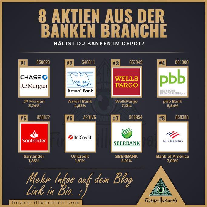 Aktien aus der Bank Branche - Lohnen sich Bank Aktien für die Börse? Dividende?