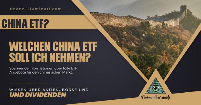 besten China ETF finden? Asien
