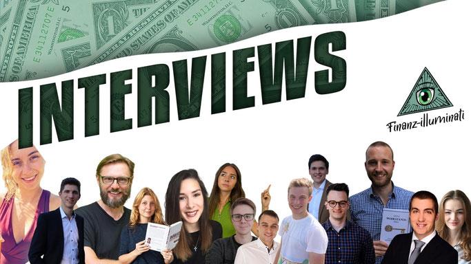 Interviews mit Investoren per Podcast - Börse, Aktien, Dividende, Krypto
