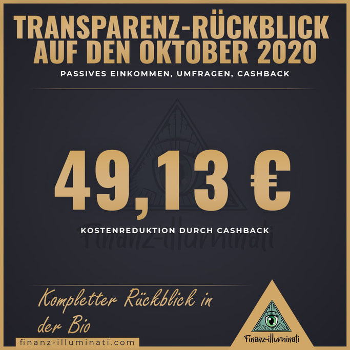 Cashback Oktober 2020