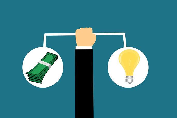 Vergleichsseiten für Aktionäre und Dividenden