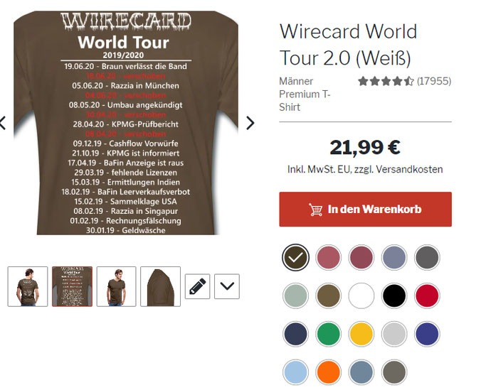 Wirecard was ist passiert? Geht CEO Markus BRaun ins Gefängnis? KPMG BAFIN Anzeige fehlende Lizenzen Razzia