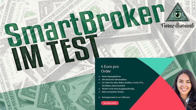 Das Depot von SmartBroker im Test - SmartBroker vs Trade Republic