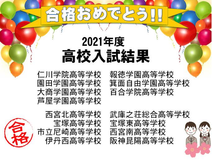 兵庫県公立高校入試 結果 今年も全員第一志望校合格