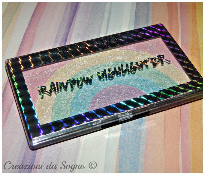 Rainbow Highlighter Revolution Makeup