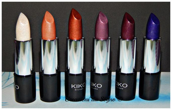 metallic lipstick Kiko Milano