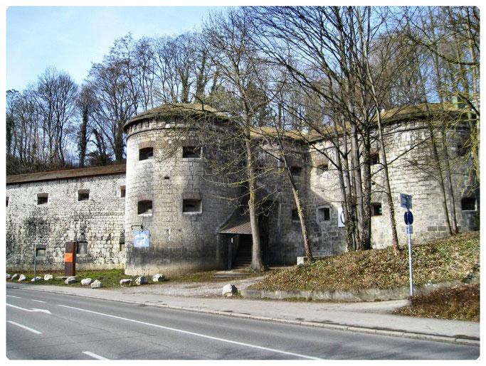 Bundesfestung Ulm, Werk XXI Untere Gaisenbergbastion