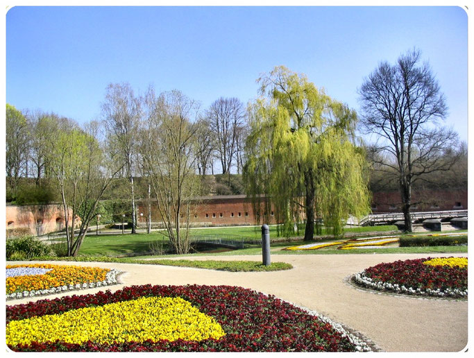 Bundesfestung Ulm, Die Stadtumwallung der Neu-Ulmer Seite   Front 5 - 7