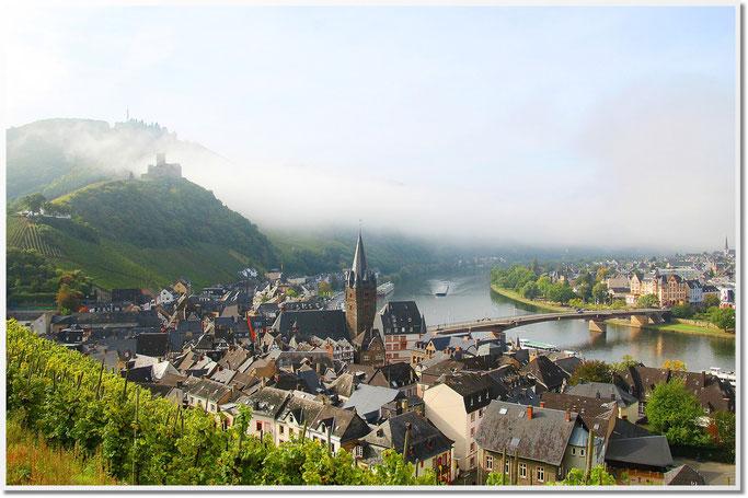 Bernkastel-Kues Stadt an der Mittelmosel in Rheinland-Pfalz.