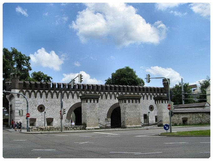 Bundesfestung Ulm, Werk II   Ehinger Tor