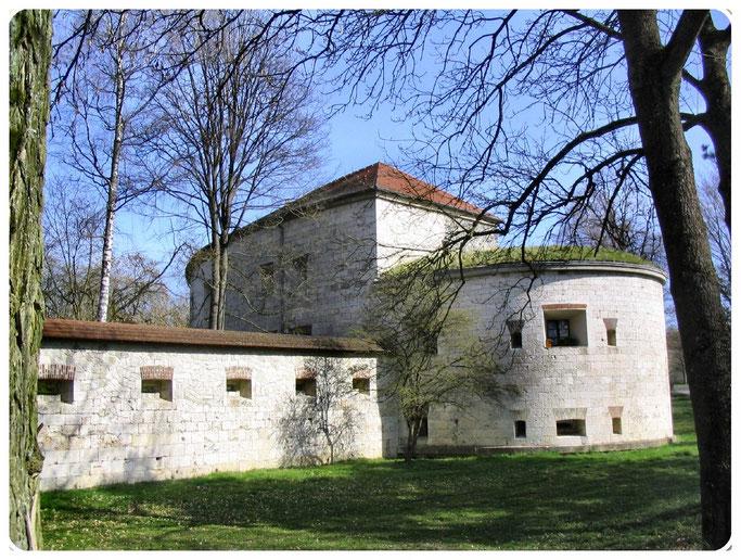 Bundesfestung Ulm, Unterer Eselsberg    Werk XXXIV