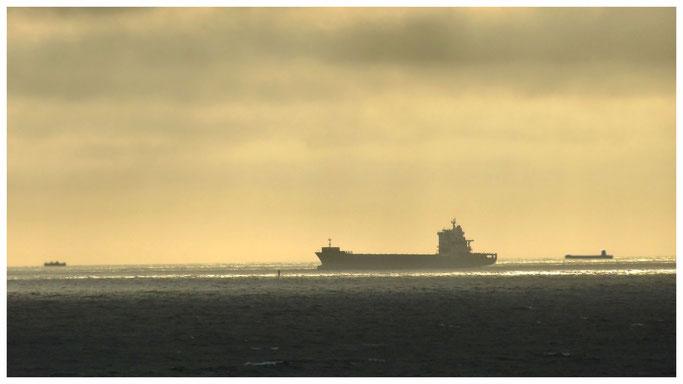 Schiffsverkehr auf dem Ärmelkanal