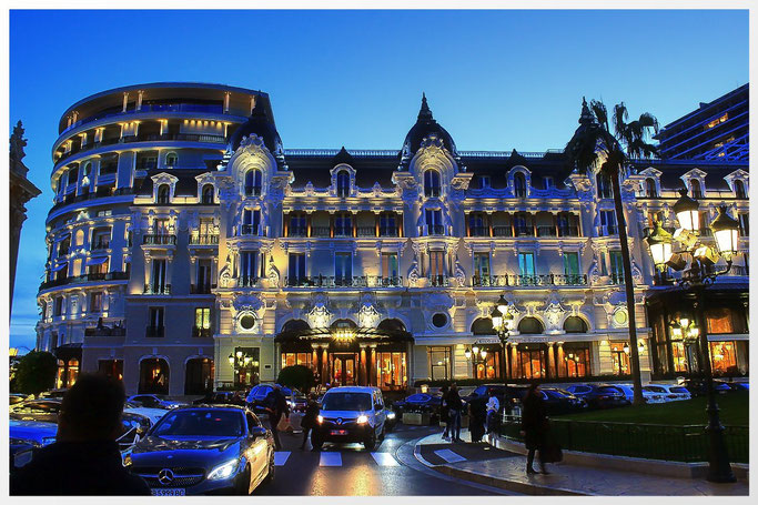 Hôtel de Paris Monte-Carlo, dem symbolträchtigen Luxushotel mit Weltruhm