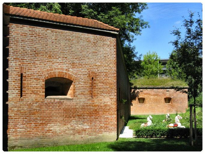 Bundesfestung Ulm, Die Forts der Neu-Ulmer Seite - Werk 13  Ludwigsvorfeste
