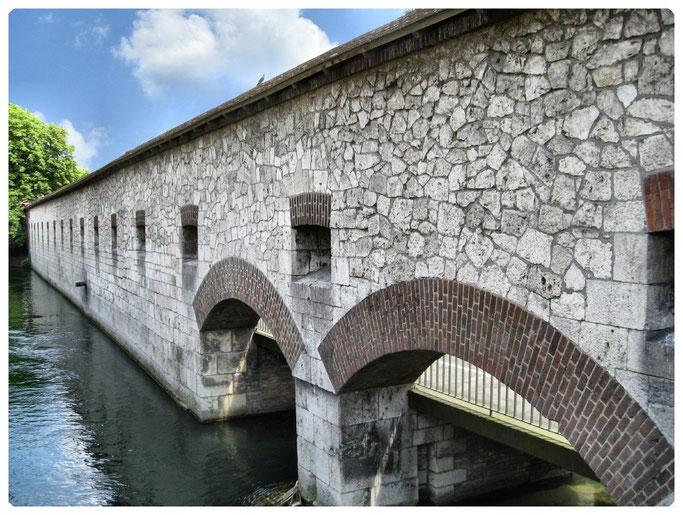 Bundesfestung Ulm, Werk VI   Anschlusslinie