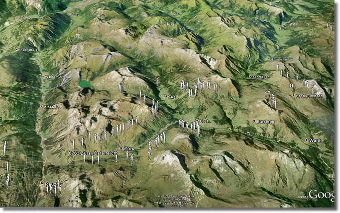 Horizon Field  ist eine Skulptur-Installation von Antony Gormley,
