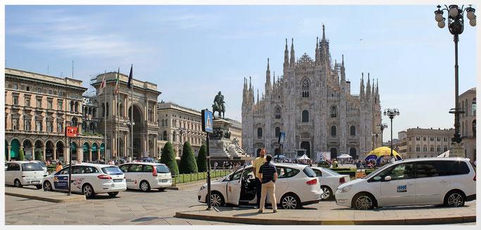 Mailand beherbergt ein Weltkulturerbe, historisch bedeutsame Bauwerke und vielfältige Kunstschätze, die mehrere Millionen Touristen pro Jahr anziehen.
